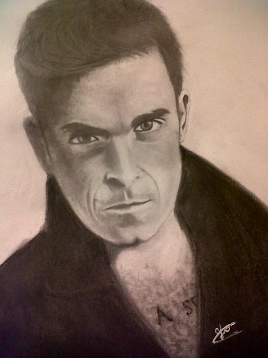 Robbie Williams par Dyandra
